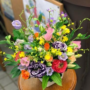 大田区 大森 山王 花屋 アレンジメント 花束 フラワーギフト